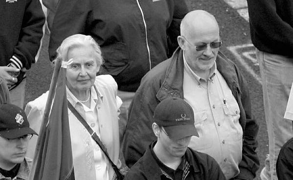 Horst Mahler und Ursula Haverbeck